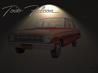 Wallpaper (Ford Falcon Deluxe 1966)